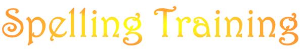 SpellingTraining - Logo