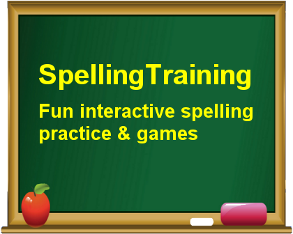 Free Online Spelling Training & Games for Grades 1, 2, 3 and 4